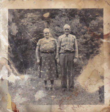 my great-grandparents (Grandma and Grandpa Mooney)