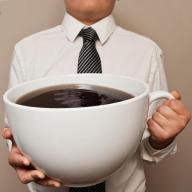 big coffee cup