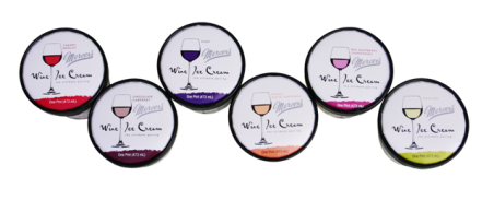 click for more info on wine ice-cream