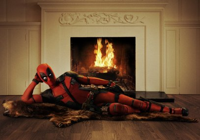 """Eat your heart out Burt Reynolds.   Photo Credit: Deadpool Movie  (click photo to go to link)"