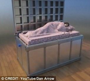 waffle iron bed