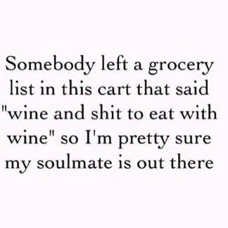 grocery list
