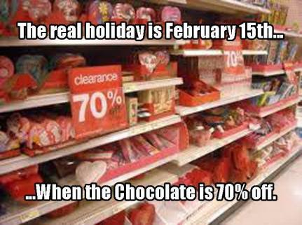 valentine candy sale