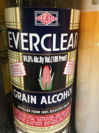 Anyone who says that grain alcohol has no taste is either wrong or already drunk. It tastes of rubbing alcohol and when taken straight, burns worse than any whiskey I've encountered (don't ask me how I know this). The only reason to buy grain alcohol is to get drunk or to spike the punch at prom. Plain and simple. It has no merit on its own – unless of course you're looking to make Molotov cocktails. For that I imagine it's perfect.