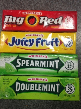 those were the gum chewing days