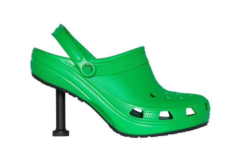 crocs with heels