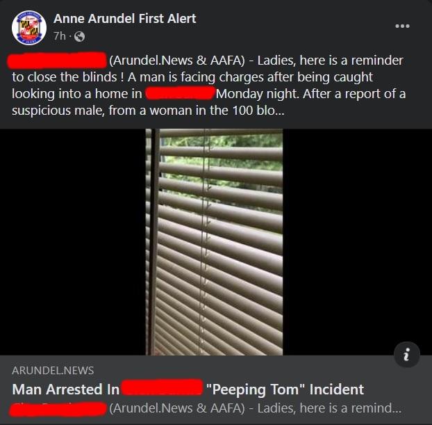 aa first alert redacted